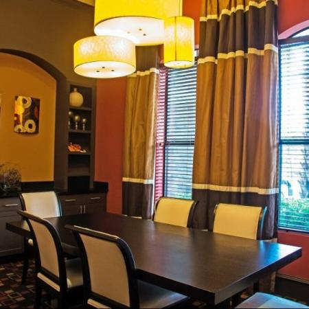 Business center at Lakeland Estates Apartment Homes in Stafford, TX