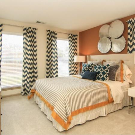 1, 2 and 3 bedroom apartment home floor plans at Reafield Village Apartments in Charlotte, NC