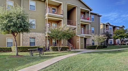 Building view of our apartments for rent in san antonio, tx