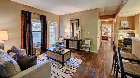 spacious living rooms in our apartments for rent in san antonio, tx