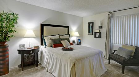 Bedroom at Avery Park Apartments in Fairfield, CA