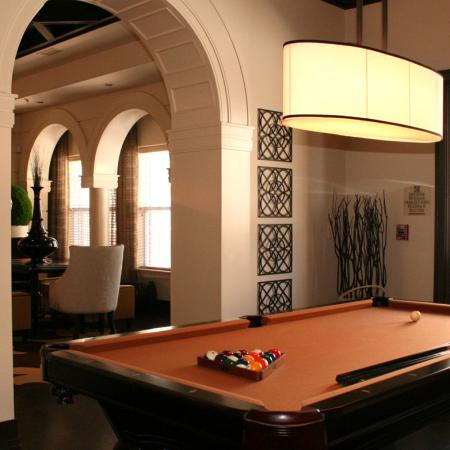 Billiards room at The Preserve at Catons Crossing in Woodbridge, VA