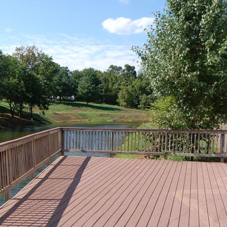 Deck at Brentwood Apartment Homes, 8669 Devonshire Court, Manassas, VA