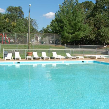 Swimming pool at Brentwood Apartment Homes, 8669 Devonshire Court, Manassas, VA