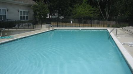 Pool at Parklane Apartments in Gaithersburg, MD.