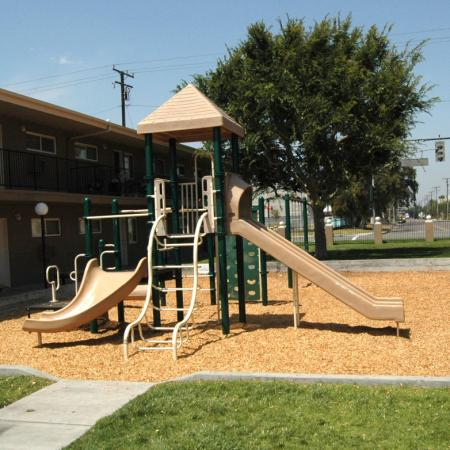 Playground at Walden Glen Apartments in Buena Park, CA