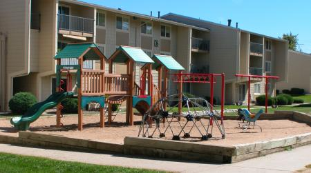 Playground at Timberleaf Apartments in Lakewood, CO