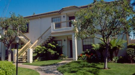 Exterior of Westbrook Apartments in San Diego, CA