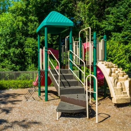 Playground at Grand Reserve Orange Apartments in Orange, CT.