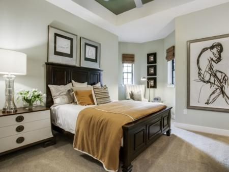Bedroom- Cantabria at Turtle Creek in Dallas, TX