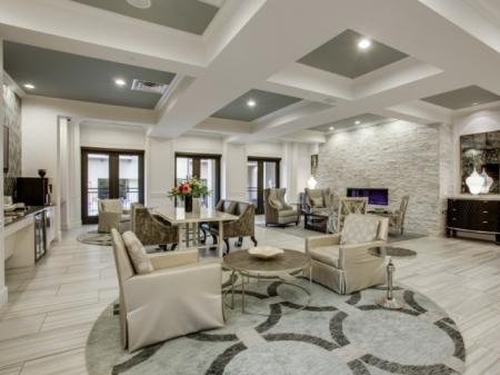 Resident Lounge- Cantabria at Turtle Creek in Dallas, TX