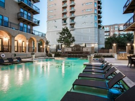 Pool- Cantabria at Turtle Creek in Dallas, TX