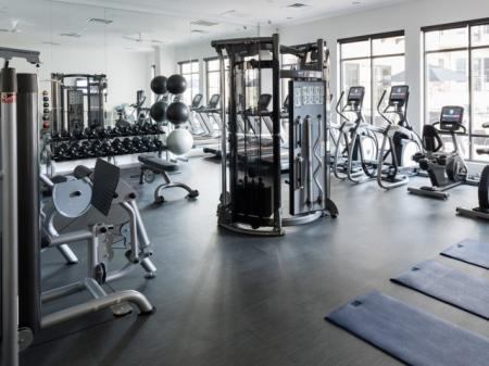 Fitness center- Cantabria at Turtle Creek in Dallas, TX