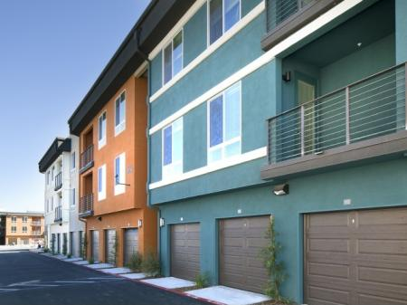 Detached and Attached garages at Pulse Millenia in Chula Vista, CA