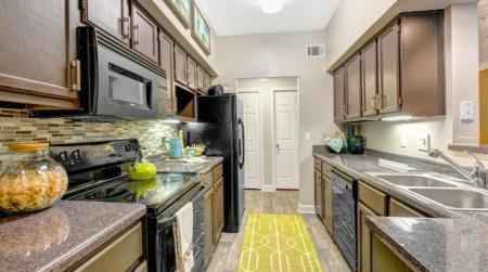 Model Kitchen -Woodway Square