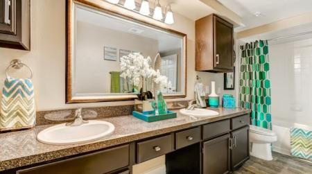 Master bathroom-Woodway Square