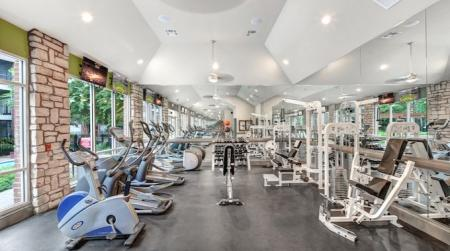 Fitness center-Woodway Square