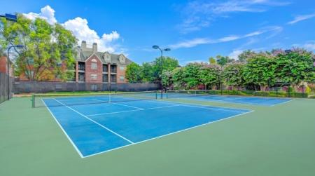 Tennis court- Woodway Square