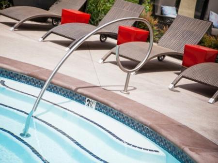 Oasis salt water pool at Terrena Apartment Homes in Northridge, CA