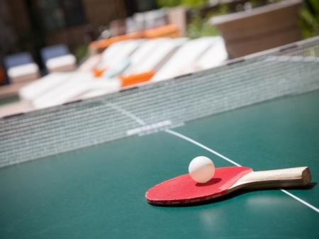 Ping pong table at Terrena Apartment Homes in Northridge, CA
