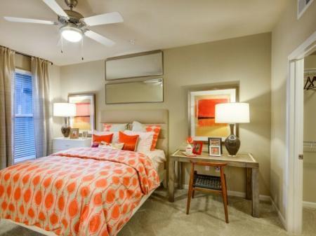 Master suite at Terrena Apartment Homes in Northridge, CA