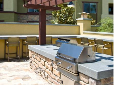 BBQ Grills at Dakota Apartments in Winchester, CA