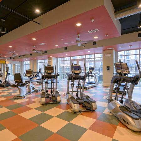 Fitness Center at 1160 Hammond Apartments in Sandy Springs, GA