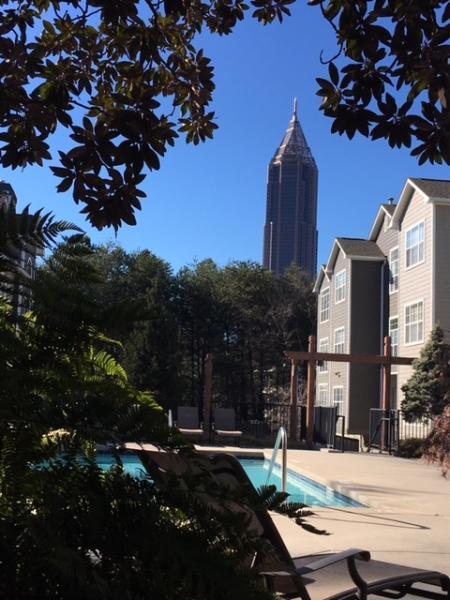 Views of Downtown Atlanta at The Prato at Midtown Apartments in Atlanta, GA