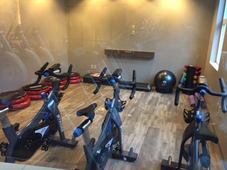 Exercise bikes at Sanctuary Apartments in Renton Wa