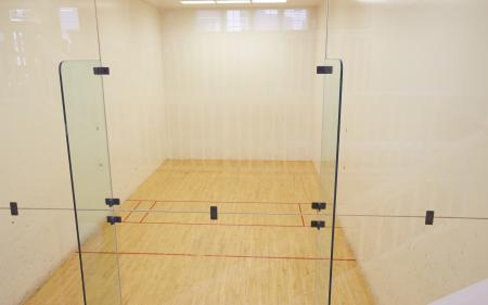 Racquetball court at Middletown Ridge Apartments, 100 Town Ridge, Middletown, CT