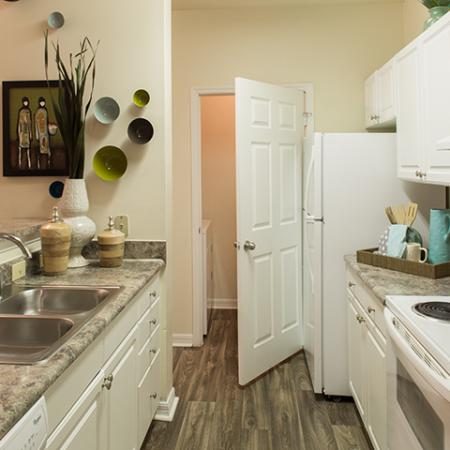 Kitchen at Arbor Walk Apartments in Tampa, FL
