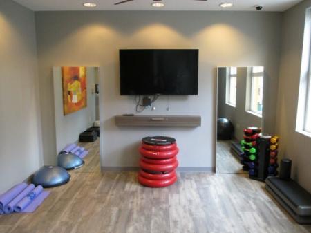 Training room at Sanctuary Apartments in Renton WA