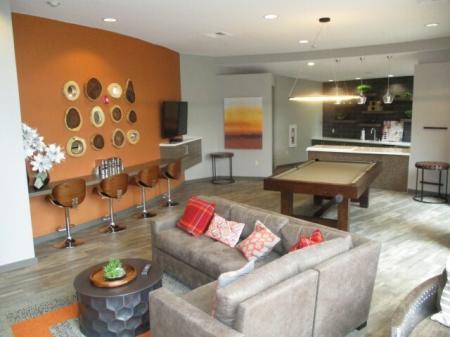 Resident lounge at Sanctuary Apartments in Renton WA