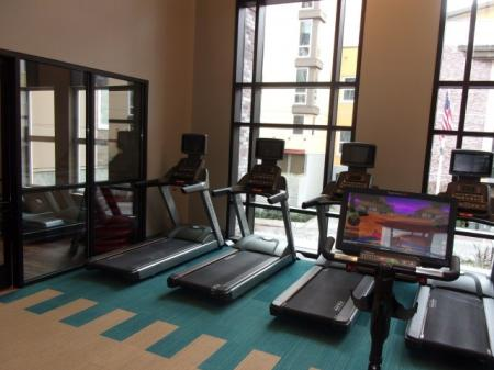 Technogym equipment at The Reserve Apartments in Renton Wa