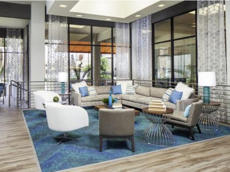 Resident lounge at Helix Apartments in Las Vegas NV