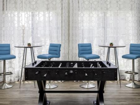 Foosball table at Helix Apartments in Las Vegas NV