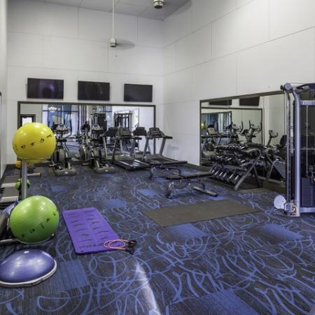 Fitness Center at Helix Apartments in Las Vegas NV