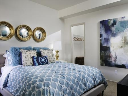 Second bedroom at Helix Apartments in Las Vegas NV