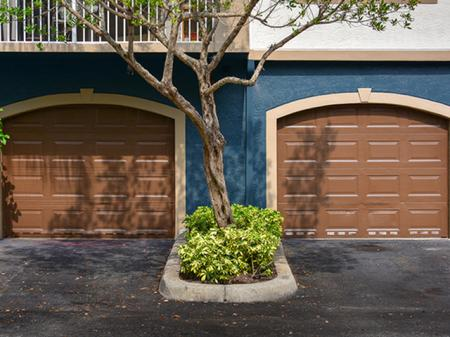 Garage parking at Waterstone at Wellington Apartments in Wellington, Florida