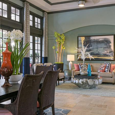 Clubhouse at Luxury Apartments in Wellington Florida