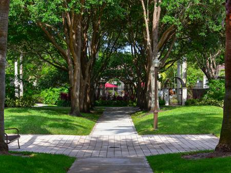 Courtyard at Waterstone at Wellington Apartments in Wellington, Florida