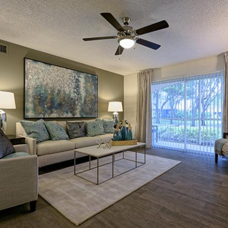 Living Room at Waterstone at Wellington Apartments in Wellington, Florida