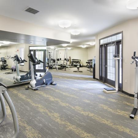 Get in your daily routine right on sight with our resident fitness center at Dwell Vienna Metro