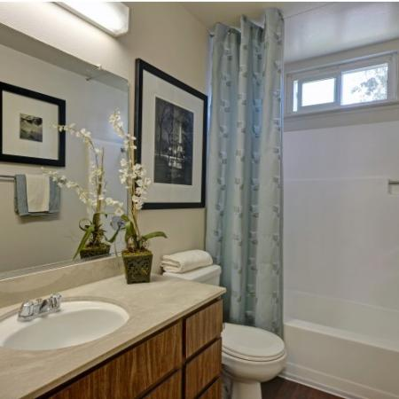Baycliff Apartments Richmond CA Bathroom