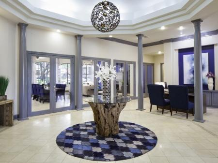 Leasing Center at The Brixton Apartments in Dallas, TX