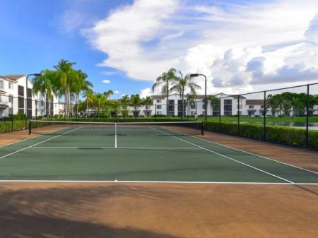 Tennis Courts at Doral West Apartment Homes in Doral, FL