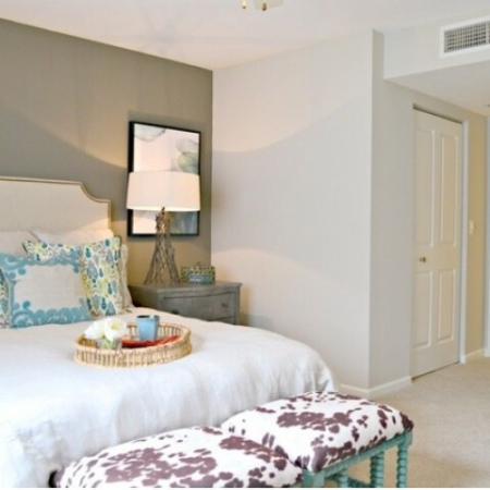 Bedroom at Doral West Apartment Homes in Doral, FL