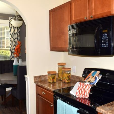 Kitchen at Southpoint Village Apartments in Durham, NC