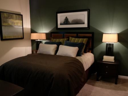 Bedroom at Dakota Apartments in Winchester CA