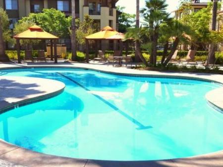 Pool at Dakota Apartments in Winchester CA